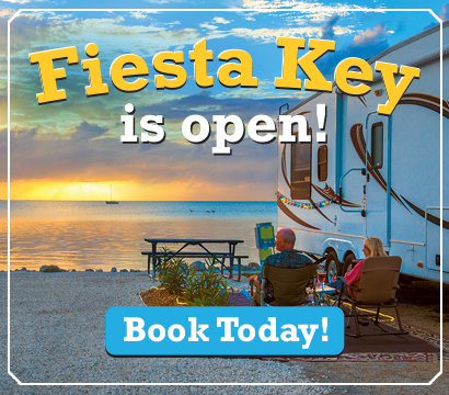 Fiesta Key is Open