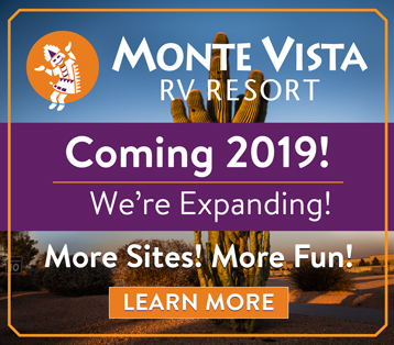 Monte Vista RV Resort - Coming in 2019!