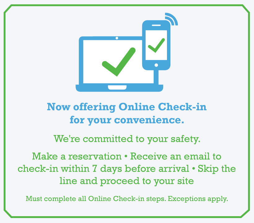 Online Check in Available