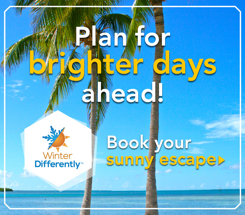 Book your sunny escape
