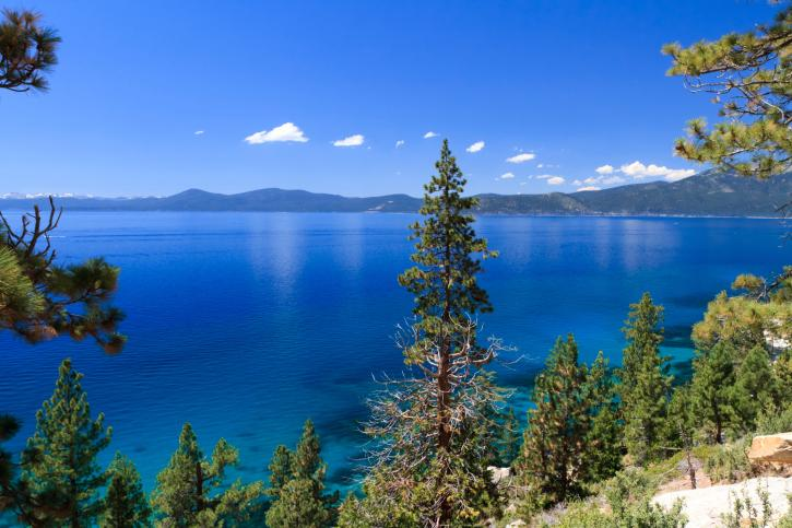 Lake Tahoe and Sierra Nevadas